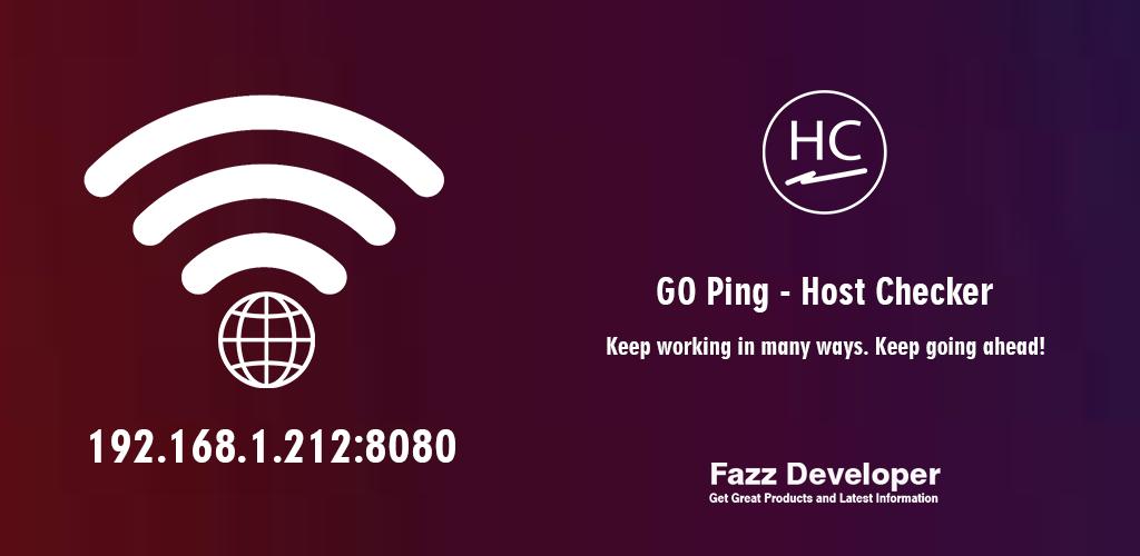 GO Ping - Host Checker